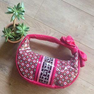 Fun Vera Bradley Frill Handbag With Bow